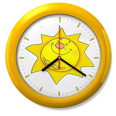 d167506e324b5 Dětské hodiny č. 09 Sluníčko. Bambulin.sk - hračky, potreby a ...