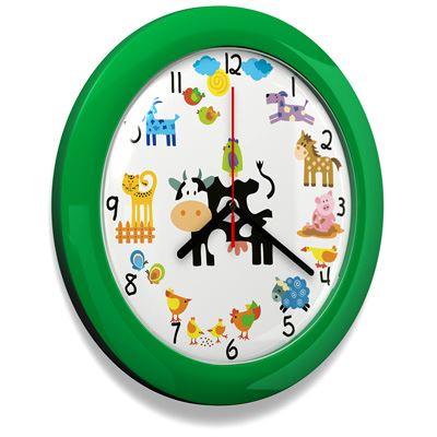 b6b319af87fd1 Dětské hodiny č. 66 Zelená Farma. Bambulin.sk - hračky, potreby a ...
