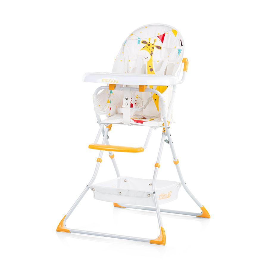 b11a543c66f7 Chipolino Detská jedálenská stolička Maggi - oranžová. Bambulin.sk ...
