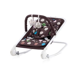 Obrázok Chipolino Detské lehátko Baby Boo - chocolate