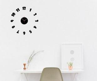 Obrázok Nalepovacie nástenné hodiny - Showgot