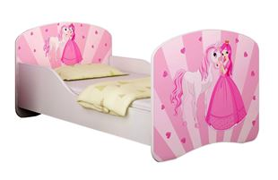 Obrázok Dětská postel - Princezna s poníkem