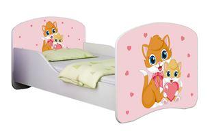 Obrázok Detská posteľ - Mačiatka