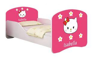 Obrázok Dětská postel - Sladká Kitty 2 + jméno
