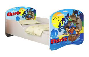Obrázok Dětská postel - Piráti + jméno