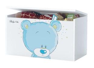 Obrázok Truhla na hračky - Modrý medvedík