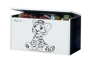 Obrázok Truhla na hračky - Tigrík