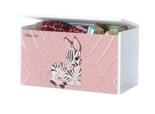 Obrázok Truhla na hračky - Zebra