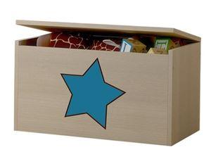 Obrázok Truhla na hračky - Hviezda