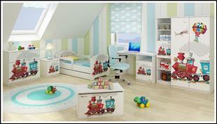 Obrázok Truhla na hračky - Vláčik