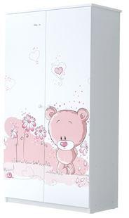 Obrázok Šatník Ružový medvedík