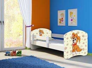 eca51a9488323 Detská vyvýšená posteľ - Hugo rebrík z boku - 160x80cm. Bambulin.sk ...