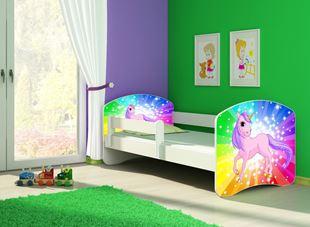 Obrázok Dětská postel - Poník jednorožec duha 2