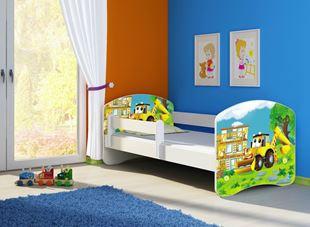 Obrázok Dětská postel - Bagr 2