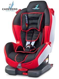 Obrázok Autosedačka CARETERO Sport TurboFix red 2016