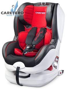 Obrázok Autosedačka CARETERO Defender Plus Isofix red 2016
