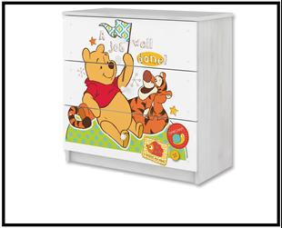 Obrázok Disney Komoda Medvídek Pú III