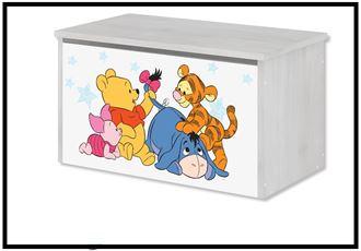 Obrázok z Disney Truhla na hračky Medvídek Pú I