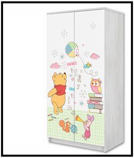 Obrázok Disney Šatní skříň Medvídek Pú II