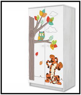 Obrázok Disney Šatní skříň Medvídek Pú III