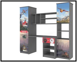 Obrázok Disney Obývací stěna Letadla
