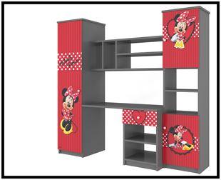 Obrázok Disney Obývací stěna Minnie červená