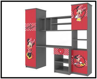 Obrázok z Disney Obývací stěna Minnie červená