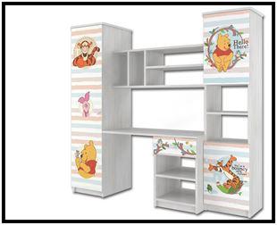 Obrázok Disney Obývací stěna Medvídek Pú IV