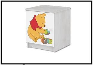 Obrázok Disney Noční stolek Medvídek Pú III