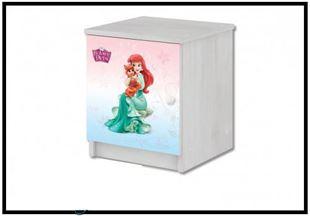 Obrázok Disney Noční stolek Princezny