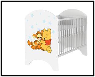 Obrázok Disney detská postieľka Medvedík Pú I