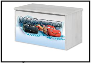 Obrázok Disney Truhla na hračky Cars 2