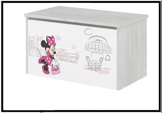 Obrázok z Disney Truhla na hračky Minnie Paříž