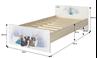 Obrázok z Disney detská posteľ Frozen 180x90 cm