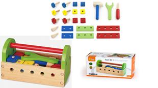 Obrázok Dětské dřevěné nářadí