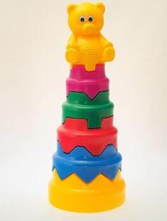 Obrázok Detská pyramída Macko