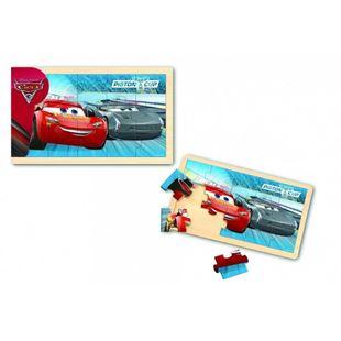 Obrázok Drevené puzzle - Cars 15 dielikov