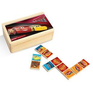 Obrázok Dřevěné domino - cars