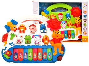 Obrázok Piánko pre deti - biela