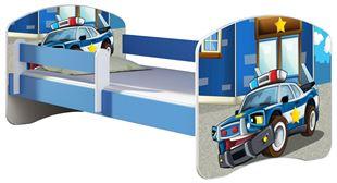 Obrázok Detská posteľ - Polícia 2