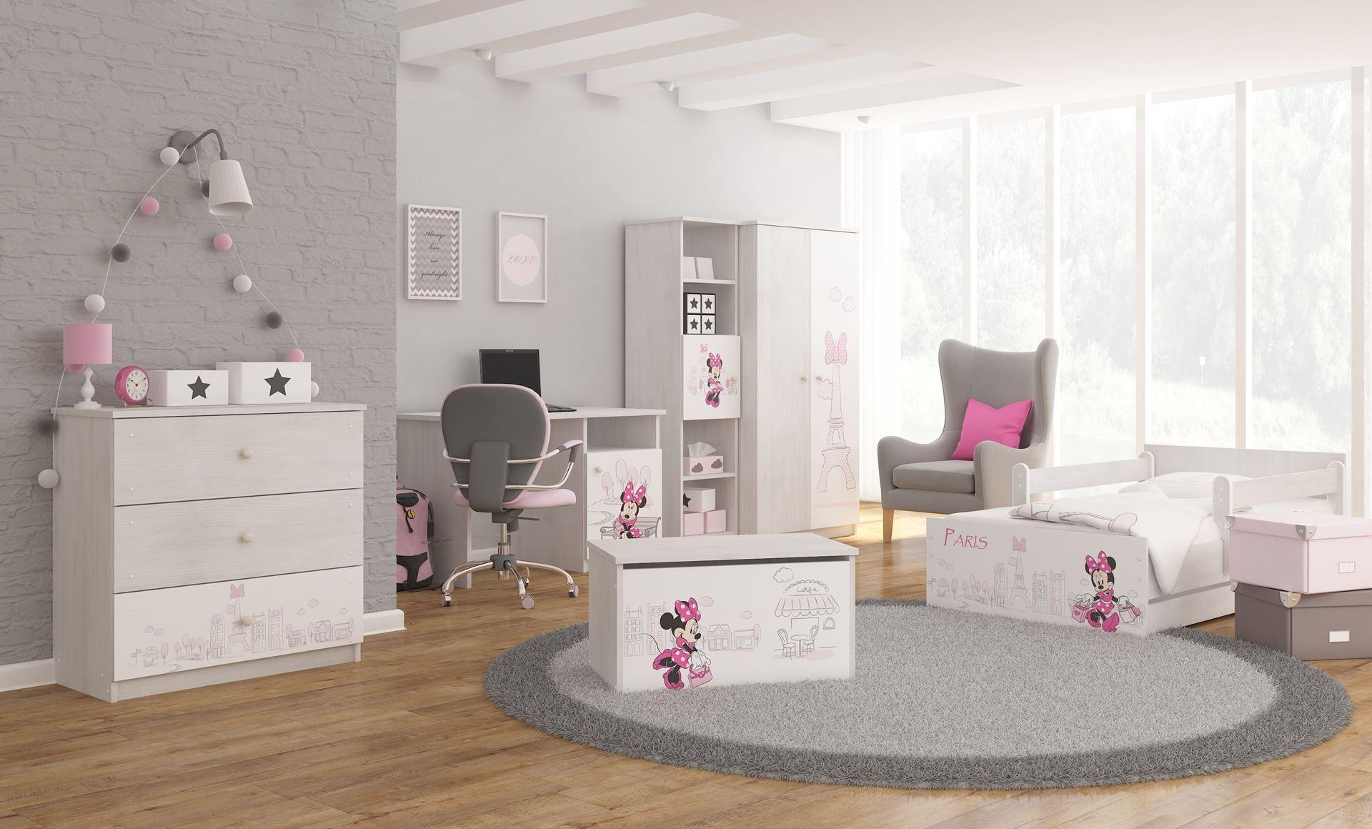 46bab2ac681ea Disney detská posteľ Minnie Paríž 180x90 cm. Bambulin.sk - hračky ...