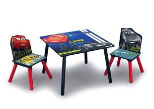Obrázok Dětský stůl s židlemi Auta (Cars)