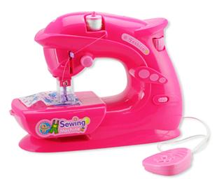 Obrázok Dětský šicí stroj - růžový