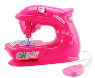 Obrázok z Dětský šicí stroj - růžový