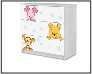 Obrázok Disney Komoda Medvídek Pú I