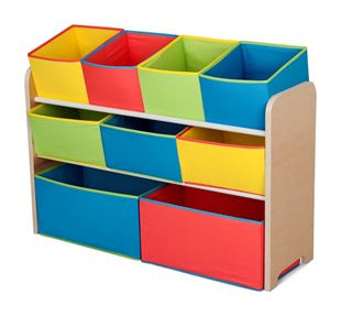 Obrázok Organizér na hračky multicolor