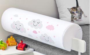 Obrázok Chránič na posteľ - mráčky