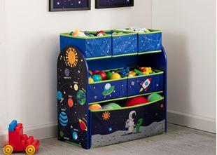 Obrázok Organizér na hračky Astronaut