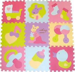 Obrázok Penové puzzle - farebné hračky