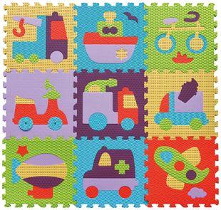 Obrázok Penové puzzle - jazdné vozidlá